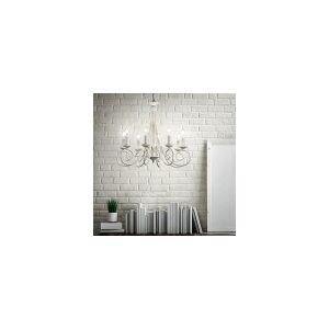 Ideal lux závesné svietidlo - luster Ideal lux BRANDY 066622 - starožitná biela