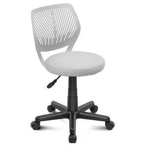 DiVolio Kancelárska stolička Smart s okrúhlym sedadlom - šedá