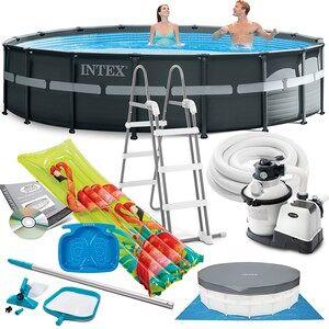 Intex Bazén Intex 26330 Ultra Frame 549 cm x 132 cm s filtračnou pumpou