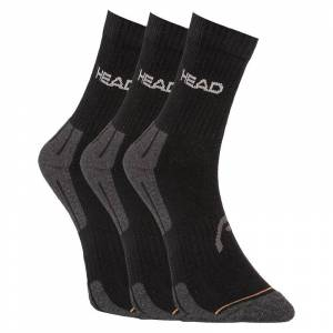 Head 3PACK ponožky HEAD čierné (741020001 200) S