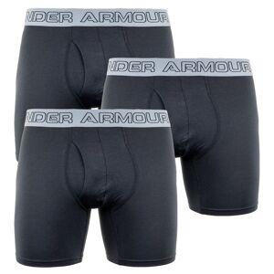 Under Armour 3PACK pánske boxerky Under Armour čierne (1277279 001) M