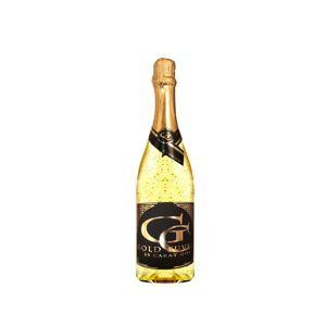 Luxusné šumivé víno s 23 karátovým zlatom 0,75 l