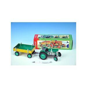 Babičkářství Traktor Zetor s valníkom - zelený