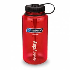 Nalgene Wide Mouth 1 l Red