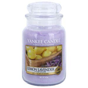 Yankee Candle Lemon Lavender vonná sviečka Classic veľká 623 g