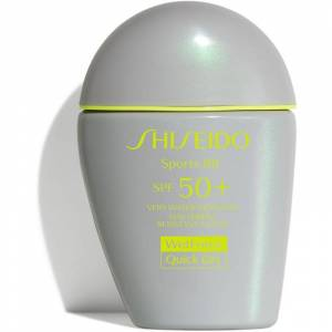 Shiseido Sun Care Sports BB BB krém SPF 50+ odtieň Medium 30 ml