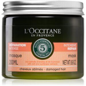 L'Occitane Aromachologie intenzívna maska pre poškodené vlasy 200 ml