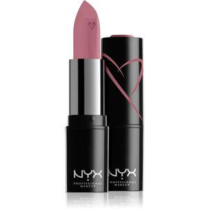 NYX Professional Makeup Shout Loud krémový hydratačný rúž odtieň 05 - Desert Rose 3,5 g