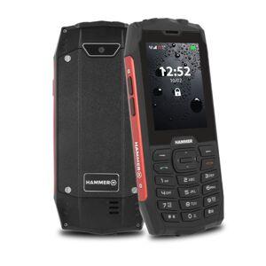 myPhone Odolný tlačidlový telefón myPhone Hammer 4, červená