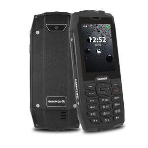 myPhone Odolný tlačidlový telefón myPhone Hammer 4, čierna