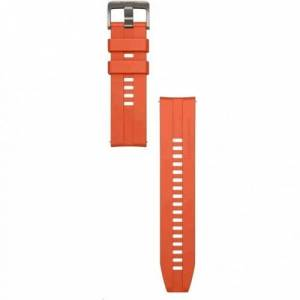 Huawei Remienok 22mm Huawei pre smart hodinky, silikón, oranžová