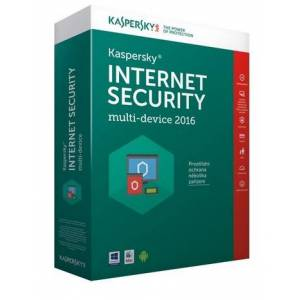 Kaspersky Internet Security 2016 CZ (KL1941OBBFS-6MCZ)