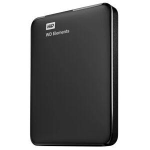 """Western Digital WD Elements Portable 750GB Ext. 2.5"""" USB3.0, Black"""