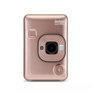 Fuji Fotoaparát Fujifilm Instax Mini LiPlay EX D, zlatá