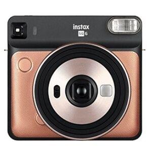 Fuji Fotoaparát Fujifilm Instax SQUARE SQ6, zlatá