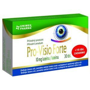 Unimed Pharma Pro-Visio Forte tbl 30 + 10 zadarmo