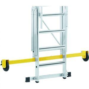 ZARGES Skladací plošinový rebrík, 12 priečok, výška plošiny 3,1 m