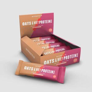 Myprotein Proteínová Tyčinka Oats & Whey - Prírodná Malina