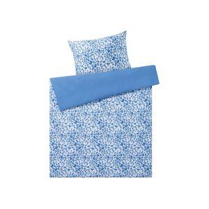 MERADISO® Saténová posteľná bielizeň, 140 x 200 cm  (kvety )