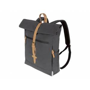 TOPMOVE® Reflexný batoh (hranatá, čierna)