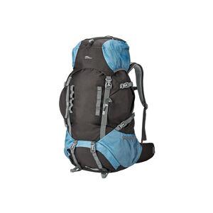 CRIVIT® Trekingový ruksak 60+10 l  (čierna / šedo-modrá )