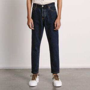 Reserved - Mrkváčové džínsy regular - Tmavomodrá