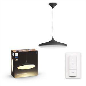 Philips HUE White Ambiance 40761/30/P6 Cher HUE White Ambiance závesné LED svietidlo 39W/3000lm 2200-6500K LED+SWITCH čierna Bluetooth