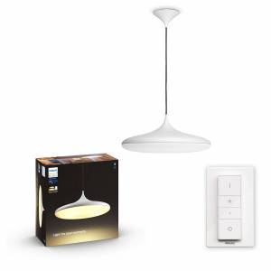 Philips HUE White Ambiance 40761/31/P6 Cher HUE White Ambiance závesné LED svietidlo 39W/3000lm 2200-6500K LED+SWITCH biela Bluetooth