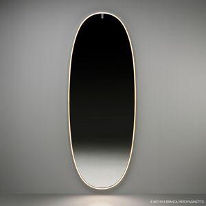 FLOSLaPlusBelle LED nástenné zrkadlo leštené zlato
