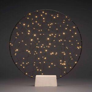 Konstmide CHRISTMAS LED ozdobné svetlo Kovová silueta prstenec
