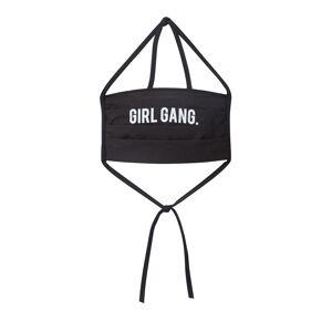 Mister Tee Látkové rúško 'Girl Gang'  čierna One Size čIerna male