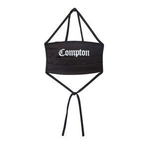 Mister Tee Látkové rúško 'Compton'  čierna