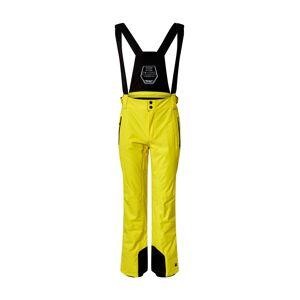 KILLTEC Športové nohavice 'Enosh'  žltá / čierna