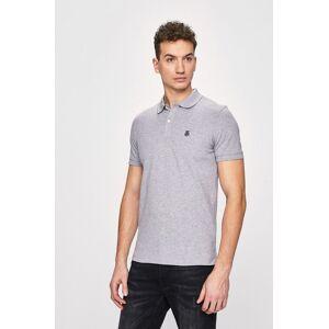 Selected - Pánske polo tričko sivá male L