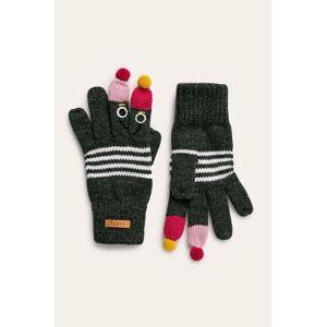 Barts - Detské rukavice sivá 3