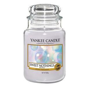 Yankee Candle Vonná sviečka veľká Sladká nič (Sweet Nothings) 623 g