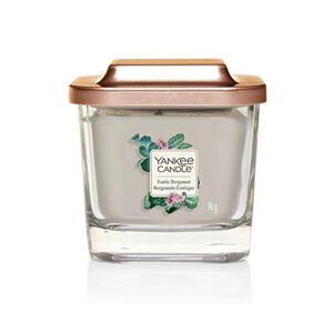 Yankee Candle Aromatická sviečka malá hranatá Exotic Bergamot 96 g