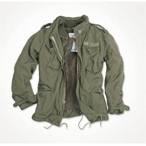 SURPLUS® Textilien Bunda SURPLUS® M65 Regiment - olív (Farba: Olive Green , Veľkosť: XXL)