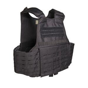 Mil-Tec® (Sturm Handels) Nosič plátov Laser Cut Carrier Mil-Tec® - čierny (Farba: Čierna)