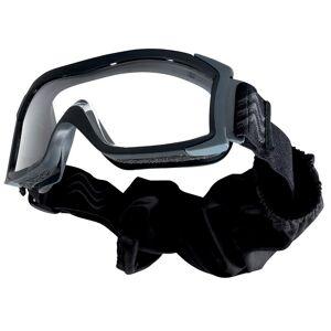 Bollé Safety® Europe Taktické ochranné okuliare BOLLÉ® X1000 čierne - číre (Farba: Čierna, Šošovky: Číre)