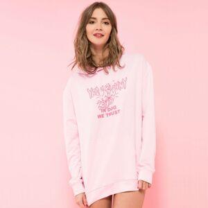 YEAH BUNNY Ružová mikina – Pink Trust – M