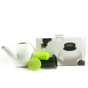 QDO Porcelánová čajová kanvica Teakyo – zelená