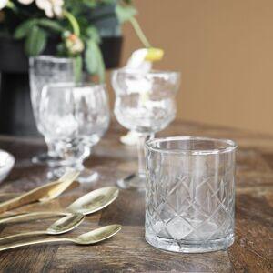 HOUSE DOCTOR Sada 6 ks – Pohár na whisky Vintage