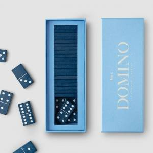 PRINTWORKS Spoločenská hra Domino – Classic