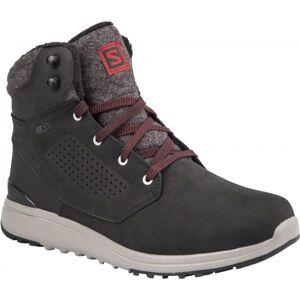 Salomon UTILITY WINTER CS WP čierna 10 - Pánska zimná obuv