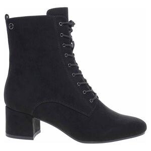 Tamaris dámská členkové topánky 1-25102-25 black 38