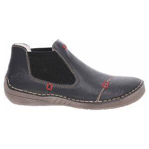 Rieker Dámska topánky Rieker 52590-00 schwarz 38