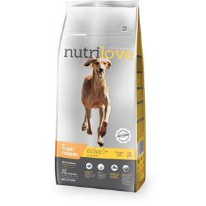 NUTRILOVE pes ACTIVE - 12kg