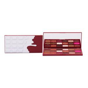 Makeup Revolution London I Heart Revolution Chocolate 18 g očný tieň pre ženy Red Velvet