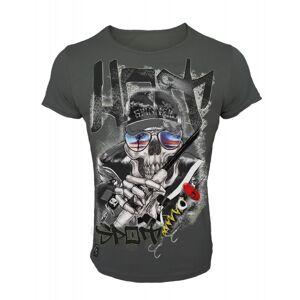 Hotspot design tričko skull hot spot-veľkosť xl